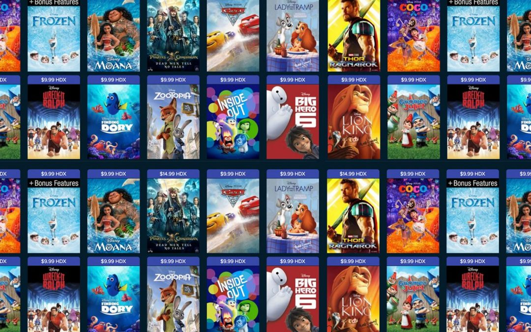 A list of the first Disney films ever made and their release dates