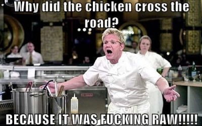 Celebrities Answer why did the chicken cross the road?