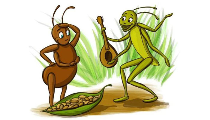 The Ant & the Grasshopper in 2008