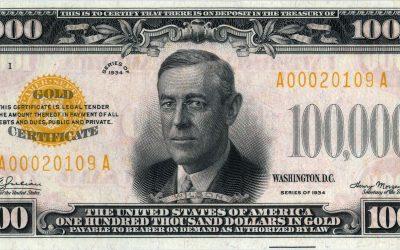 $100,000 Bill?
